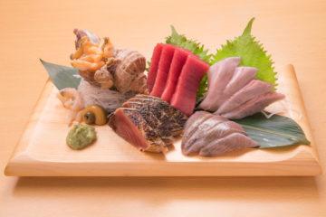和食居酒屋魚たも(うおたも)の鮮魚例①