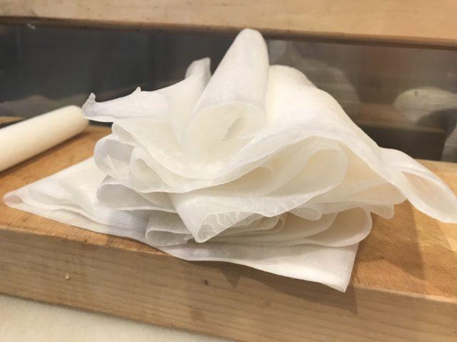 魚たも名物桂むき🔪の画像