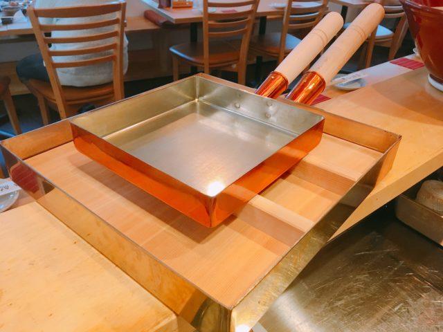 大き過ぎる玉子焼き鍋の画像