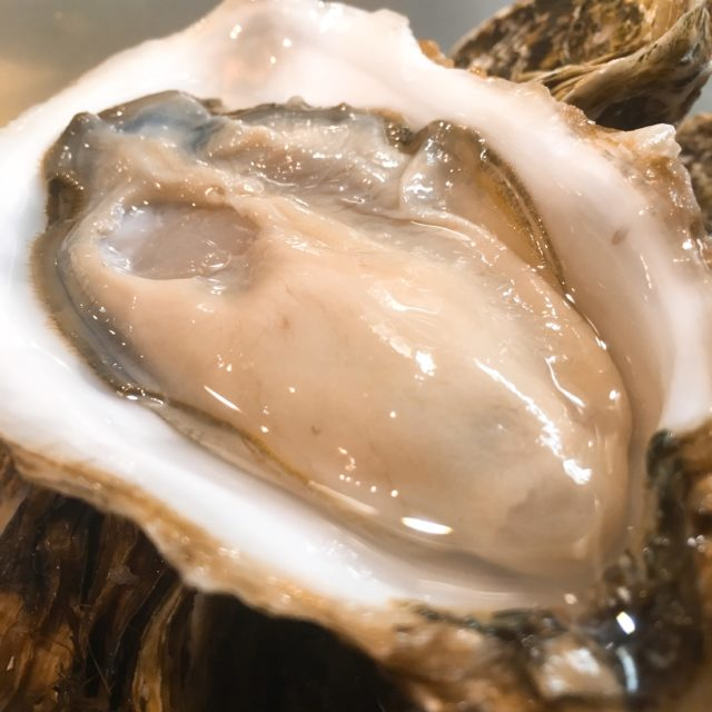 殻付き生牡蠣の画像
