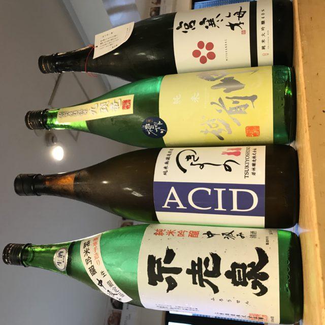 日本酒入荷の画像